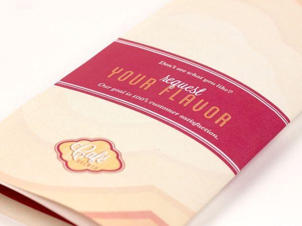 Cafe Gelato Branding and Identity