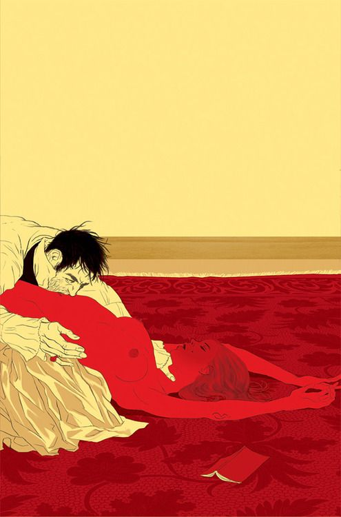 Tomer Hanuka - Marquis De Sade / Philosophy in the Boudior book cover
