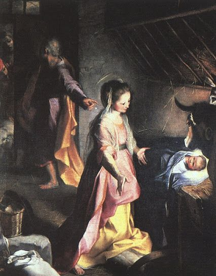 Federico Barrocci (c.1526-1612) - The Nativity, c. 1597