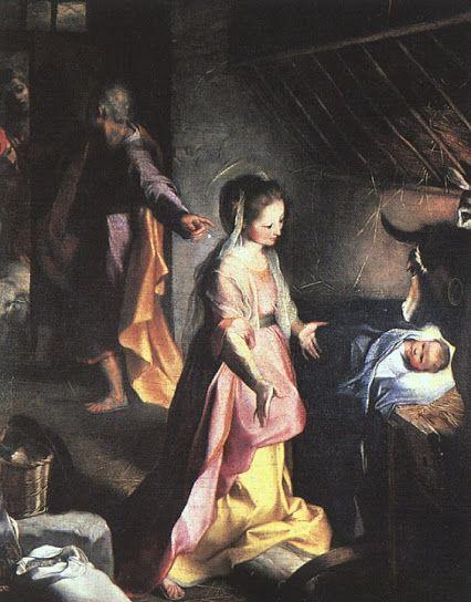 Federico Barrocci (c.1526-1612) - The Nativity, c. 1597