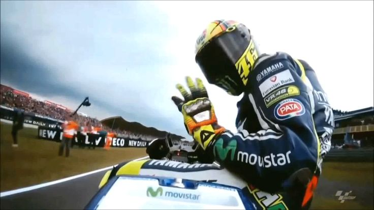 V.Rossi from Valentino Rossi tribute video