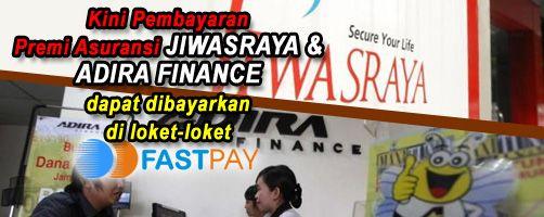 Angsuran Adira Finance dapat dilakukan di loket fastpay terdekat https://www.facebook.com/fastpaypartner