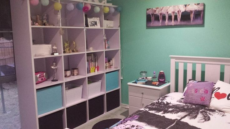 """""""Tiara Green"""" paint applied and new storage boxes addedd"""