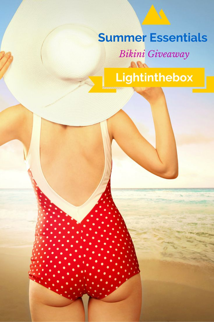"""Let's welcome Summer with this Bikini Giveaway! Entry rules here: 1. Follow us and repin this post 2. Go to >>>http://bit.ly/21mXKl1 and Re-pin at least 10 of your dreamy bikinis and caption it """"Dreamy Bikinis from Lightinthebox """" 3. Comment down below this post with """"DONE, Summer Bikini Giveaway"""" 2 Winners will get their dream bikinis. 3 winners will get $10 coupon, save on your next order! Winners will be announced on 5th Mar, 2016. Good luck, gals."""