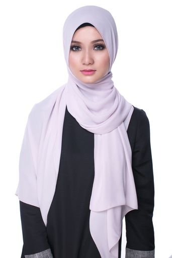 Bikaya Pastel Shawls and Scarves | ZURA Premium Chiffon shawl