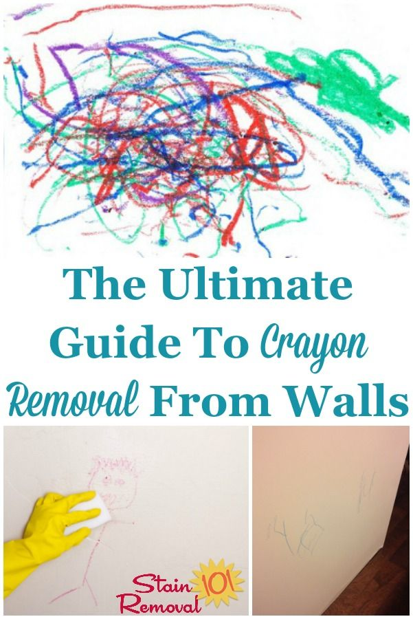 Crayon Removal From Walls Several Tips And Techniques Removing