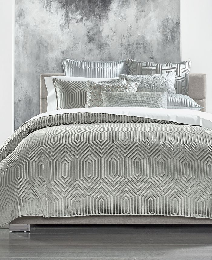 Hotel Collection Lithos King Sham Created For Macy S Reviews Designer Bedding Bed Bath Macy S In 2021 Hotel Collection Bedding Hotel Collection Bedding Collections