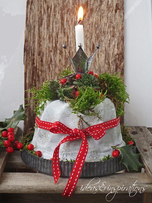 64 besten beton deko bilder auf pinterest gardening for Beton basteln weihnachten