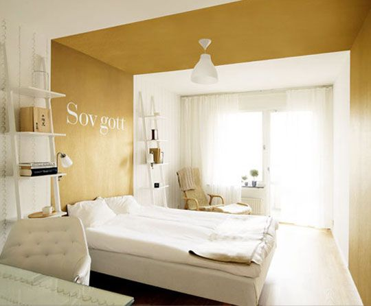 Gold paint!, Make A Room Seem Bigger: Use Metallic Paints | Apartment Therapy