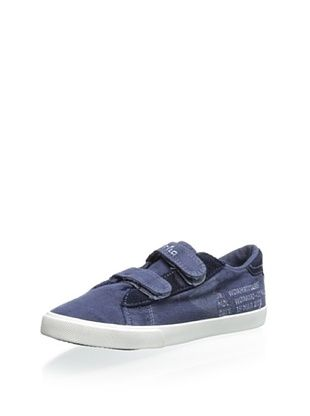 35% OFF Gorila Kid's Double-Strap Sneaker (Navy)