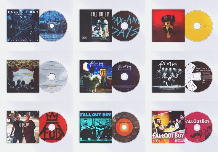 Fall Out Boy albums. But they're missing American Beauty / American Physco