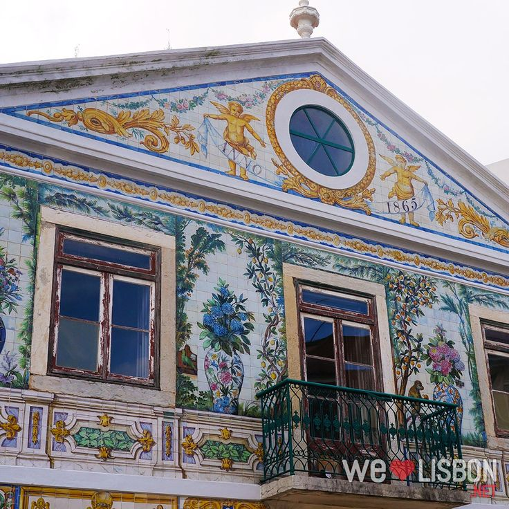 Viuva Lamego house in #Lisbon #Portugal #Travel