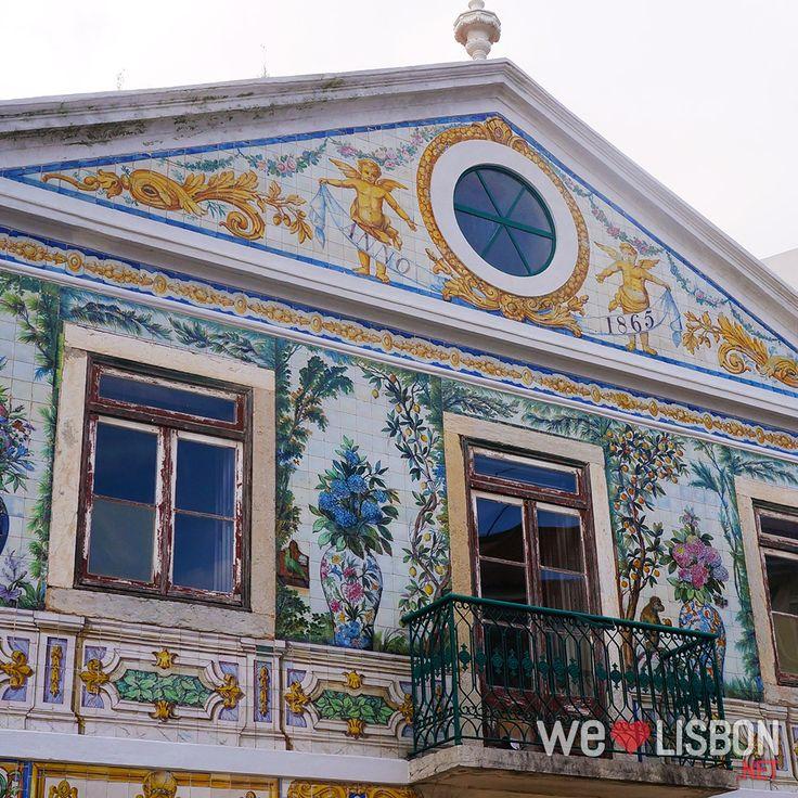 Viuva Lamego house in #Lisbon #Portugal #Travel