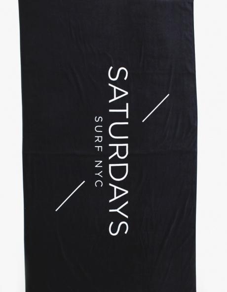 Black Towel // Saturdays Surf NYC