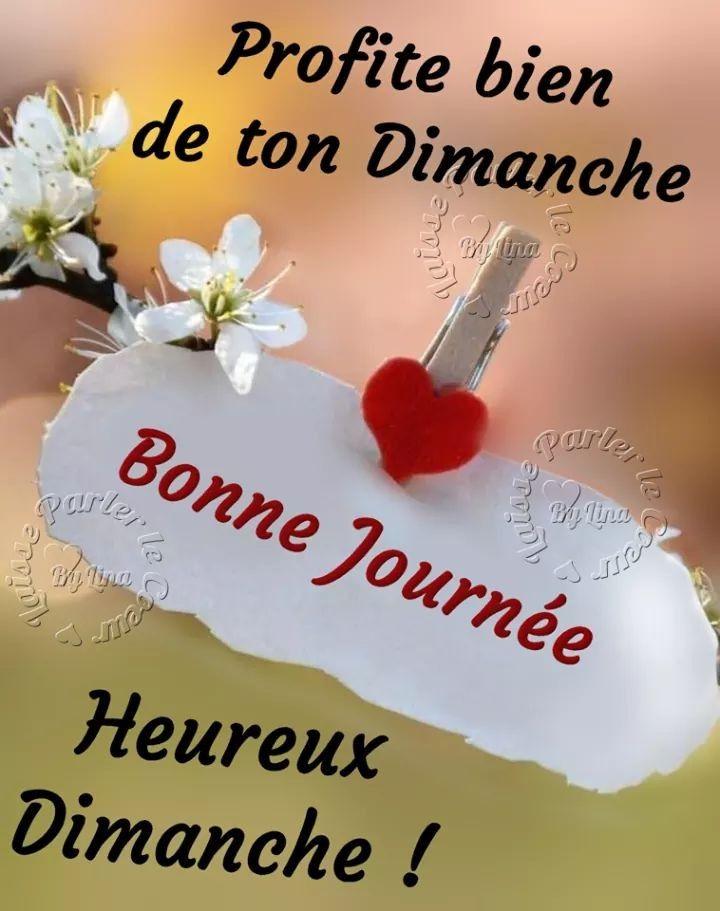 Épinglé par Viviane Ducros sur Calendrier - Fetes | Bon dimanche bisous,  Bonjour dimanche, Bonjour et bonne journée
