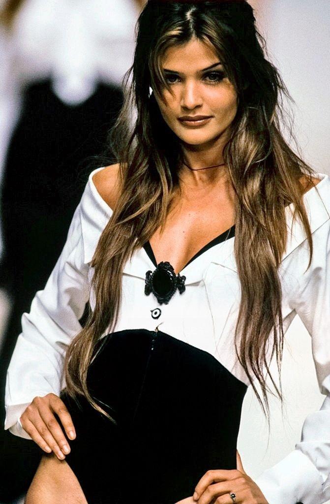 Helena Christensen - Karl Lagerfeld Spring/Summer 1993