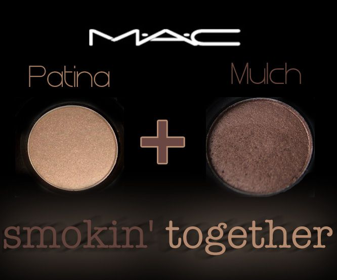 Mac Mulch and Patina eyeshadows. I've applied the duet on light, medium and dark skin; blue, green, brown and hazel eyes along with every possible hair color combo you can come up with and it looks great E.V.E.R.Y.T.I.M.E. The shadows can be worn as a light …