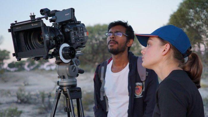 Film students inundate Outback Queensland