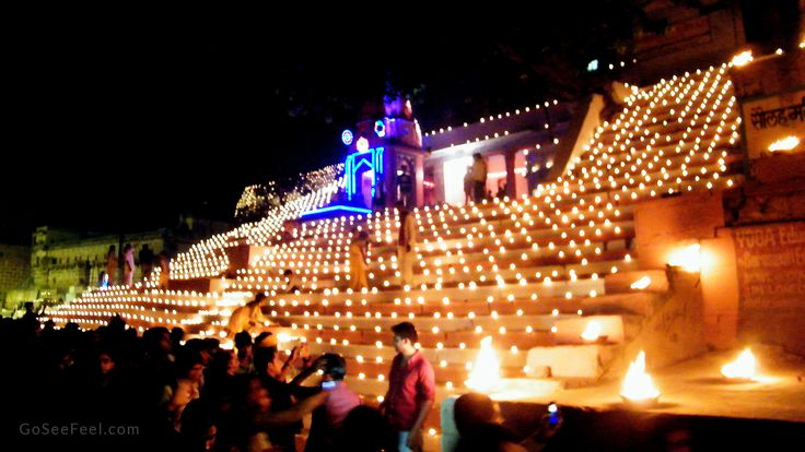 Dev Deepawali at Banaras (Varanasi), India