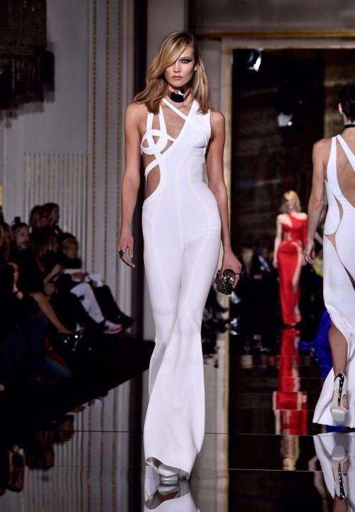 Karlie Kloss - Atelier Versace Spring 2015