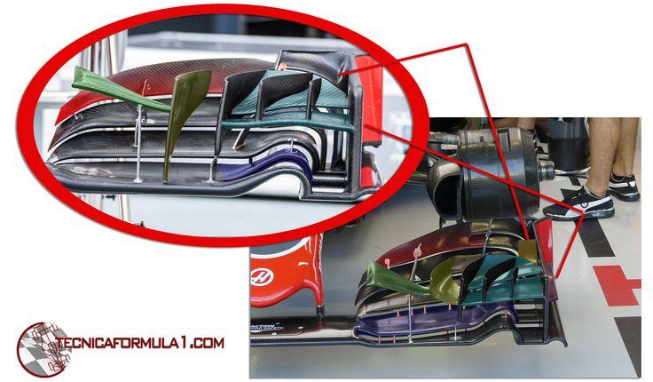 Análisis técnico del equipo Haas en los GPs de Singapur y Malasia  #F1 #MalaysiaGP