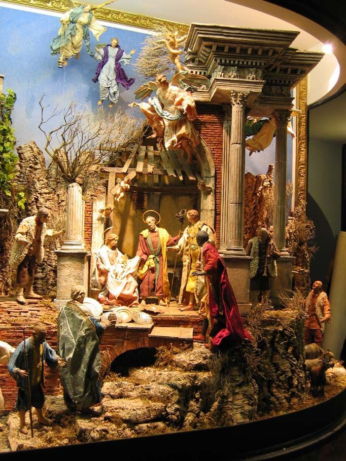 abbastanza 32 best Presepe Napoletano 700 images on Pinterest | Nativity  NU44