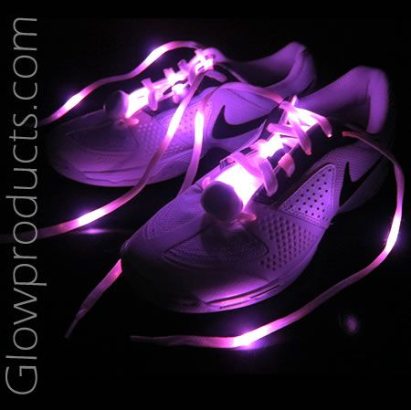 Glowing LED Shoelaces for Glow Runs & Marathons! https://glowproducts.com/us/light-up-led-shoelaces