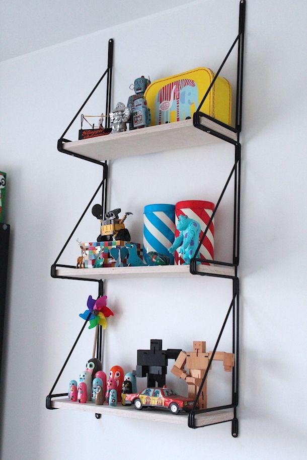 DIY Ikea rack.