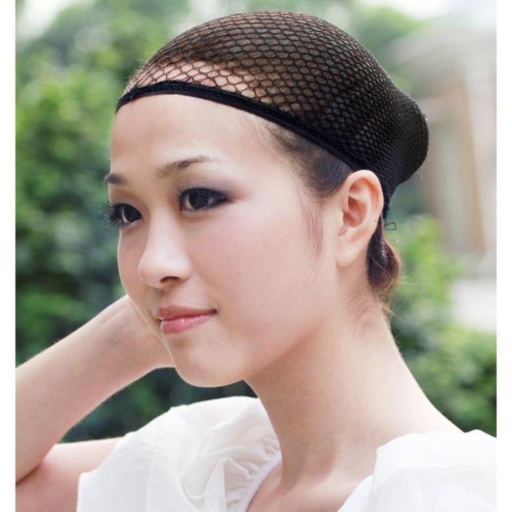 1 Pc Mode Jala Wig Cap Merenggang Elastis Rambut Snood L04176 Jaring untuk Cosplay Gratis Pengiriman
