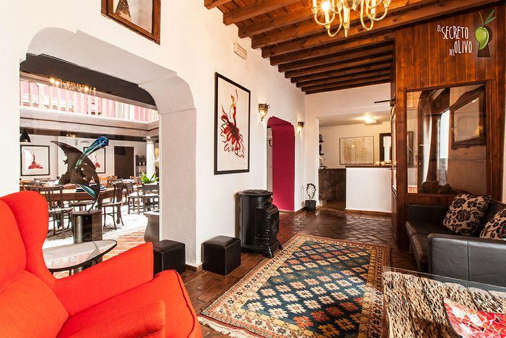 El secreto del Olivo at Nigüelas, Granada (Andalucía) #Boutiquehotel #homelyatmosphere #charmyinterior #art #oliveoil #sun