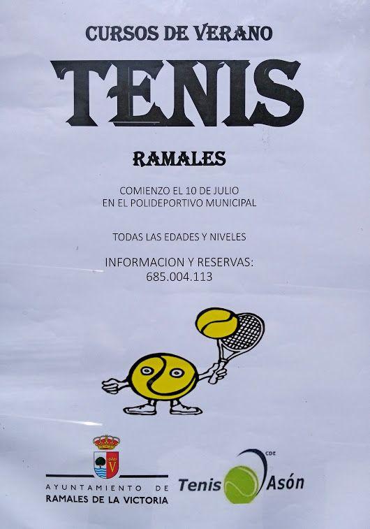 Curso Tenis de Verano. Para todas las edades, comienza el 10 Julio Polideportivo El Regato +info y reservas 685 004 113 Foto