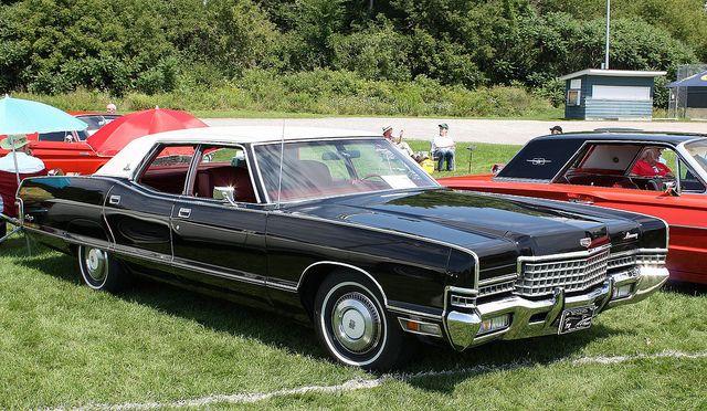 1972 Mercury Marquis Brougham 4 door