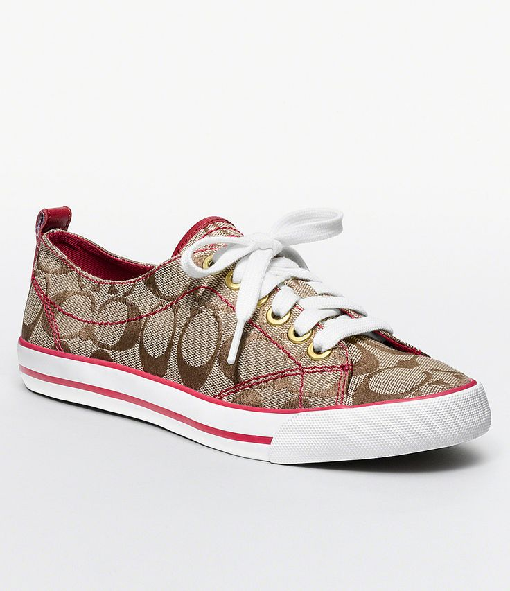 Love these coach sneakers :)