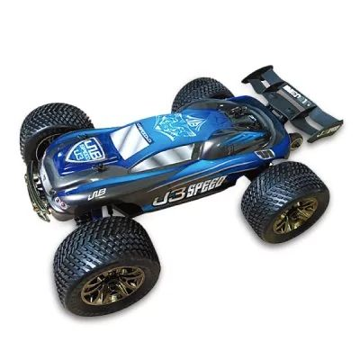 JLB Racing J3SPEED  - $265.99 (coupon: JLBR30) 1:10 4WD RC Off-road Truggy RTR EU PLUG BLUE 100km/h+ Maximum Speed / 120A Waterproof ESC / Wheelie  #JLB, #Racing, #Offroad, #Car, #радиоуправляемая, #игрушка, #gearbest, #гоночная  6633
