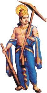 24 Incarnations of Lord Vishnu-Balrama is considered to be the twenty-first incarnation of Lord Vishnu. He was also the elder brother of Lord Vishnu's Krishna Avatar. In this incarnation, he killed Pralambasura, the demon and many more demons.