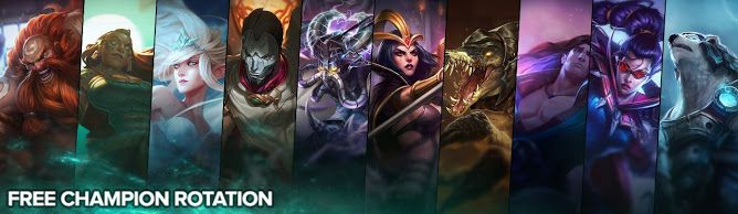 awesome Free Champion Rotation, Week of May 23rd
