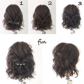 Super simple hair arrangement! 1, after the whole thing has rolled, the part of the page