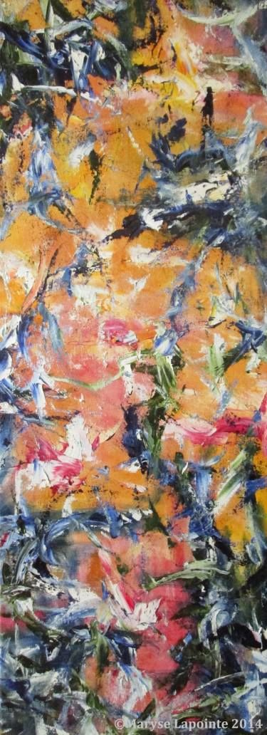 "Saatchi Art Artist Maryse Lapointe; Painting, ""Isadora 3 - 2014"" #art"