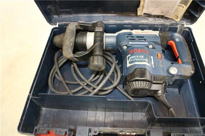 Karner & Dechow Industrie Auktionen - Bohrhammer Bosch GSH 5 CE Professional im Original-Kunststoffkoffer - Postendetails