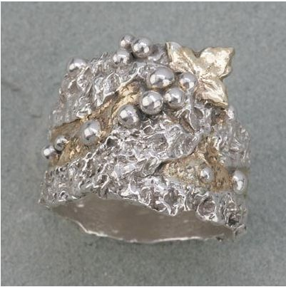 Hattie Sanderson metal clay ring