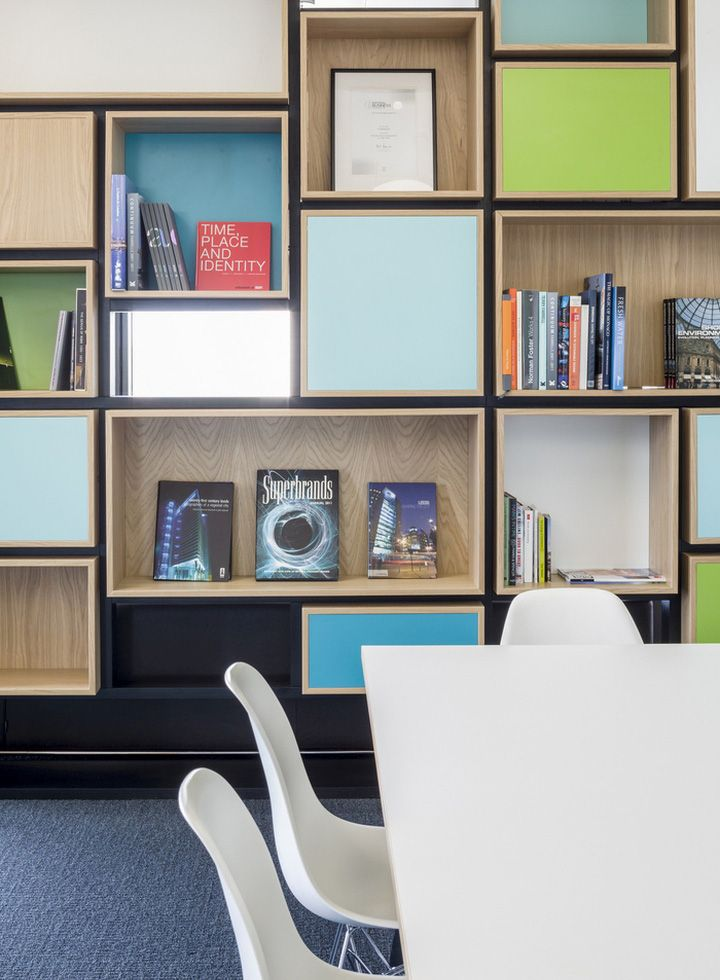 Hammerson Headquarters Offices By EDGE London UK Retail Design Blog Interior