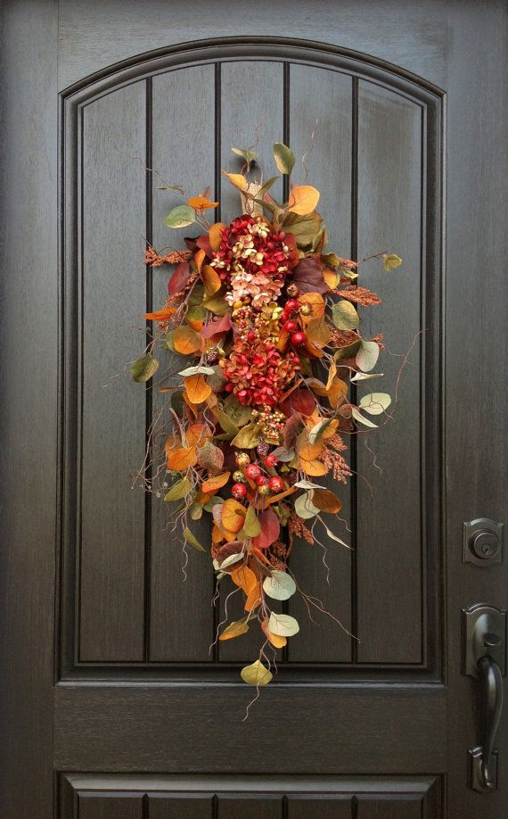 Fall Wreath Autumn Wreath Thanksgiving By