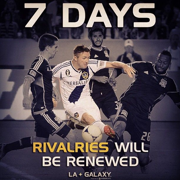 In 7 days, rivalries will be renewed as the #LAGalaxy begin the 2013 #mls season