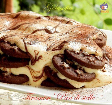 Tiramisu' Pan di stelle, magnifico dessert al cucchiaio, cremosissimo e super goloso! semplicissimo..non perdete questa bontà!