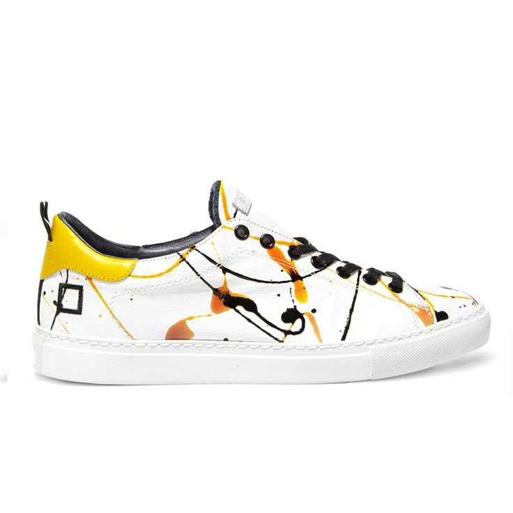 Spring Summer 2015 D.A.T.E. Sneakers Collection / Italian design/ Ace Pollock Yellow:http://bit.ly/1PK4gup