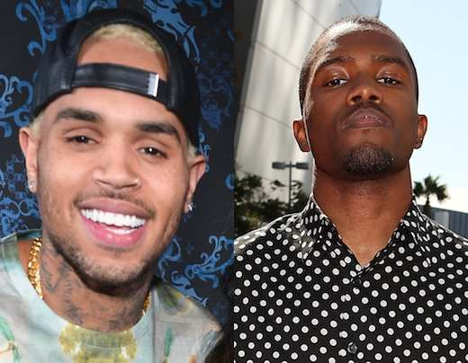Chris Brown and Frank Ocean reportedly got in a fight at their recording studio, and Ocean says his hand is now injured so he won't be able to play properly at the Grammys.