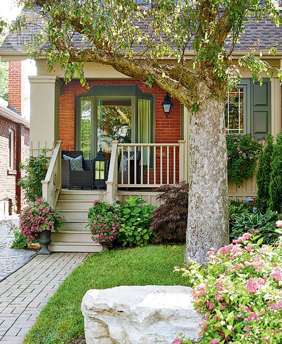 Curb Appeal Ideas: 144 Best Delightful Small Porch Ideas Images On Pinterest