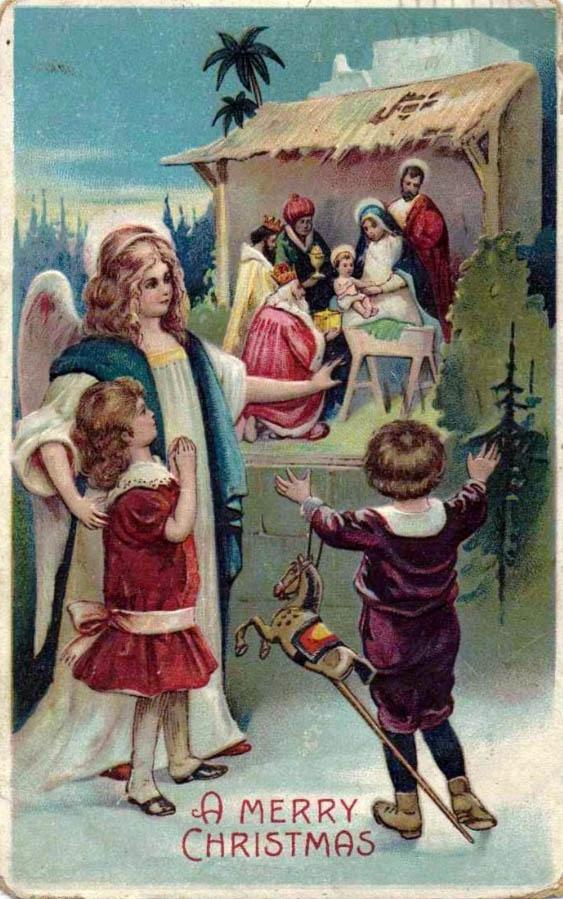Nativity Art Christmas CardsReligious