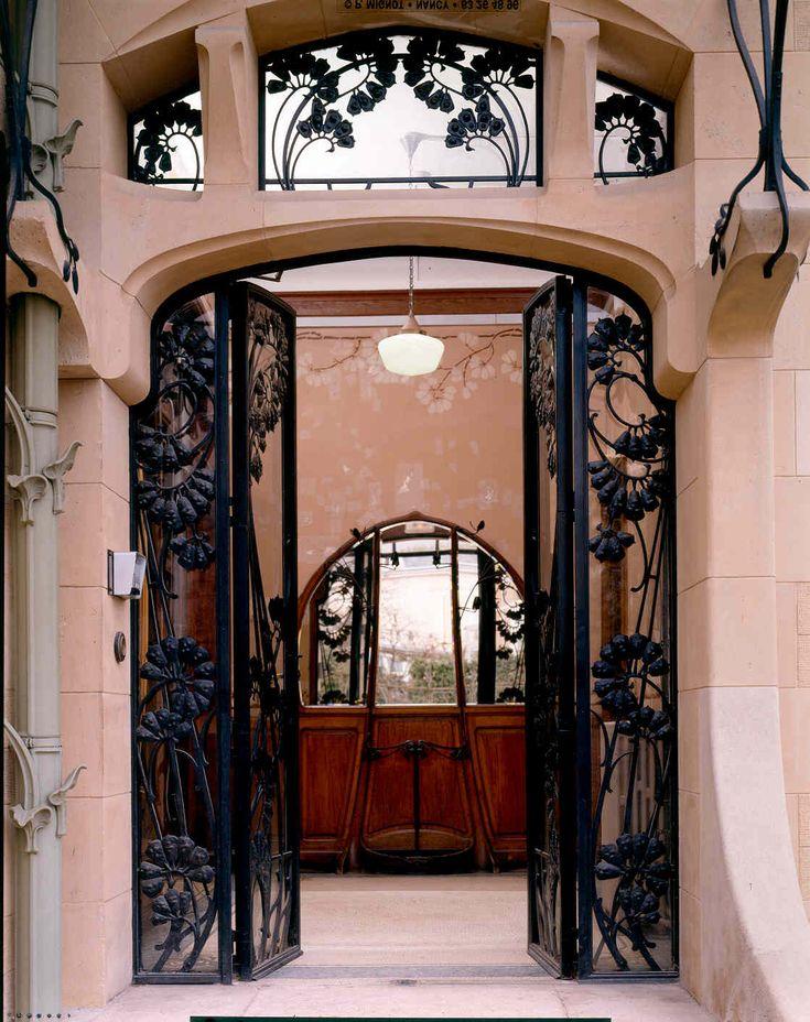 Porte de la Villa Majorelle, Nancy ... Et toute les portes art nouveau