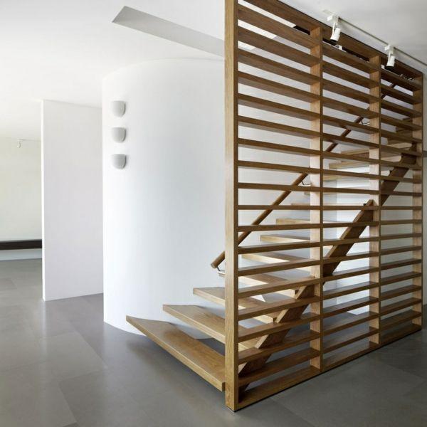 moderne treppen im keller gestalten